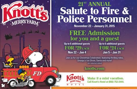 Knott S Berry Farm Theme Park Fire And Police Recognition