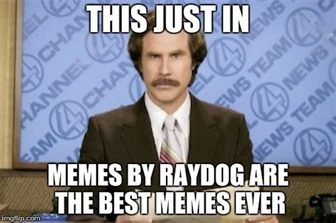 Best Meme Ever - raydog iz da best memer imgflip