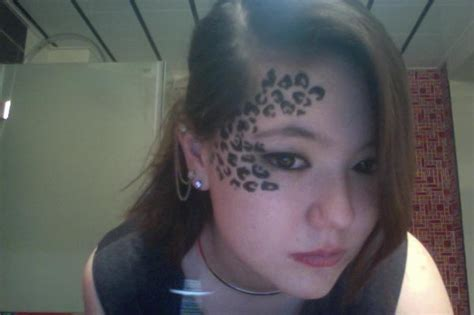 cheetah face tattoo 30 cheetah print ideas hative