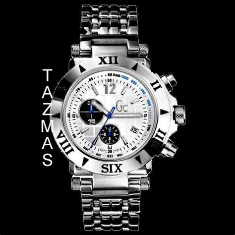 Guess Collection Gc Chrono Silver 100 authentic guess collection silver chrono g41002g1
