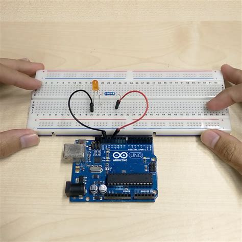 arduino tutorial blinking led arduino led blinking tutorial 2 makerstream