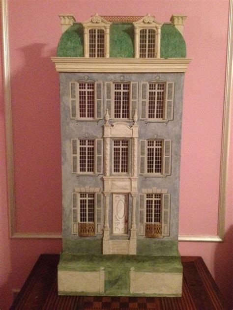 painted doll houses huge vintage dollhouse hand painted by artist eric lansdown san francisco 1986