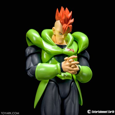 Shf Android No 16 s h figuarts android 16 high res gallery the toyark news