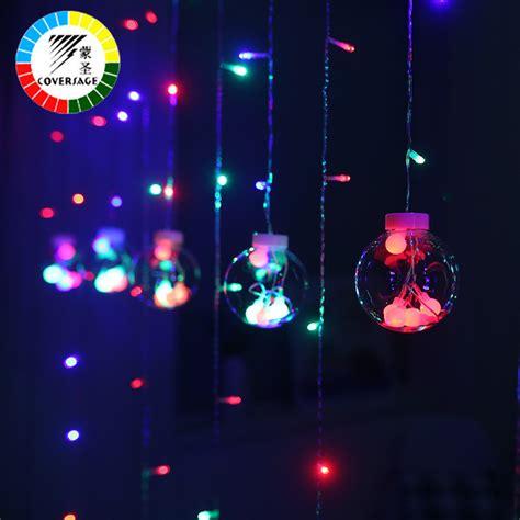Lu Led String Light Versi Baterai coversage 3m tree 웃 유 decorative decorative curtain garlands string