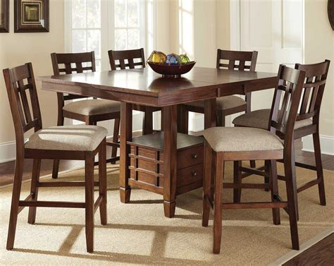 counter height dining sets with bench steve silver bolton 7 piece counter height dining set with storage table wayside
