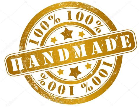 Handcrafted By - 100 handmade st stock photo 169 pepj 35615873