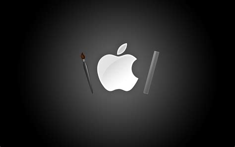 apple wallpaper with black background apple bw black background hd