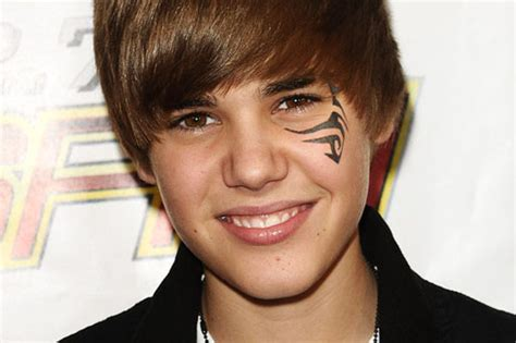 bieber face tattoo images designs