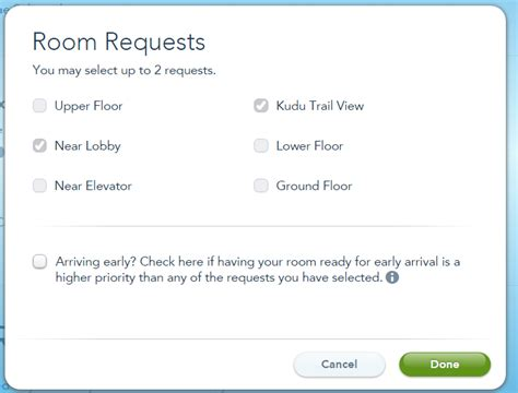 room change request changing your room requests using mde walt disney world touringplans discussion forums