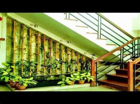 beautiful small indoor garden  stairs latest