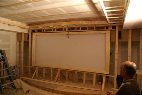 Starfield Ceiling by Theaterblog Installing The Starfield Ceiling