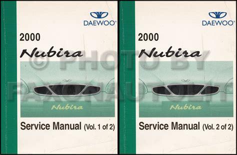 service manual 2002 daewoo nubira repair manual free download service manual 2002 daewoo 2000 daewoo nubira owner s manual original