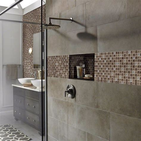 glass mosaic tile shower wall 5 glass tile mosaics that will stand up to bathroom dness