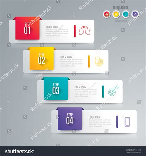 Infographic Design Template Can Be Used Stock Vector 371621770 Shutterstock Infographic Layout Template