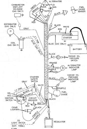 deere 1967 4020 starter wiring diagram wiring