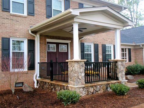 Brick Front Veranda Schritte by Front Patio Designs Interior Gorgeous Front Porch