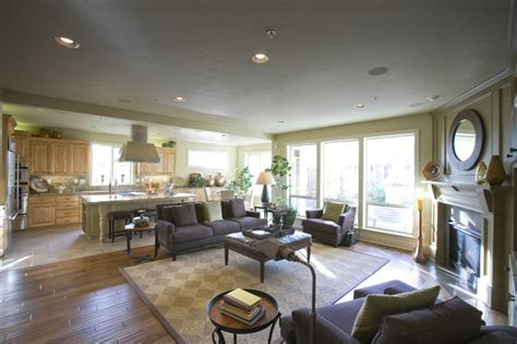 Open Floor Plan Kitchen And Family Room by Weekly Poll Is The Open Floor Plan Still In Favor