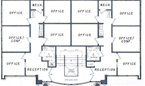 pics for gt 4 storey commercial building floor plan 17 genius two story office building plans house plans