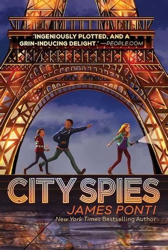 city spies book  james ponti paperback wwwchapters