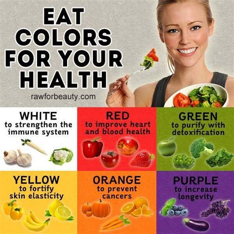 color for health eat colors for your health food pinterest