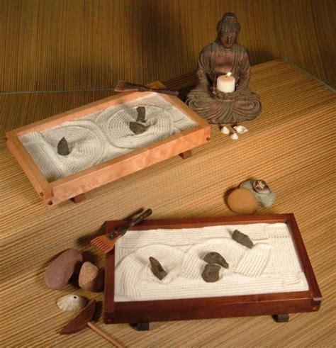 tabletop japanese zen rock garden karesansui complete
