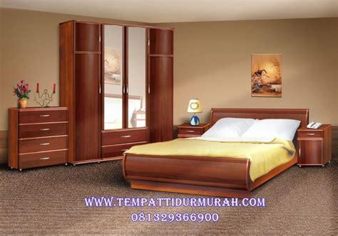 Jual Bedroom Set by Jual Set Kamar Tidur Jati Minimalis Desain Tempat Tidur