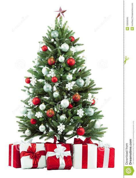 christmas tree and presents stock image image 13009349