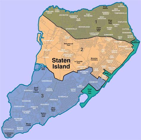 staten island map the vernalwald staten island oakthornewiki