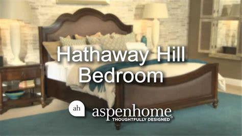 hathaway hill bedroom by aspen home furniture home