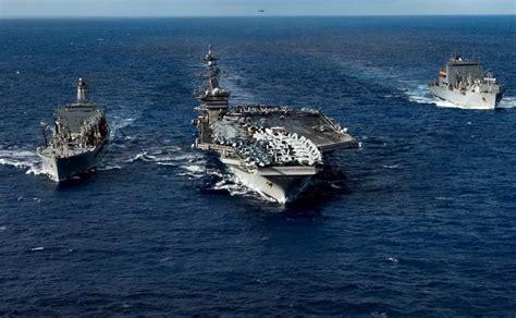 portaerei usa mappa e caratteristiche delle portaerei statunitensi nel