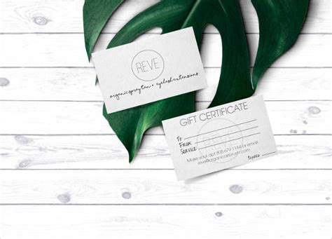 free gift card template mac gift certificate template 42 exles in pdf word in