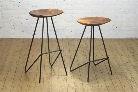 perch bar stool perch stool iron from the source