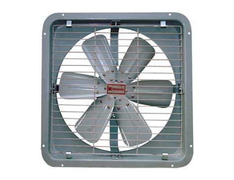 industrial exhaust fan wattage standard appliances