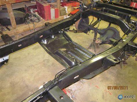 jeep frame 76 cj5 restoration