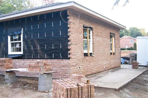 brick laminate picture brick home plans troubleshooting brick veneer jlc online exteriors