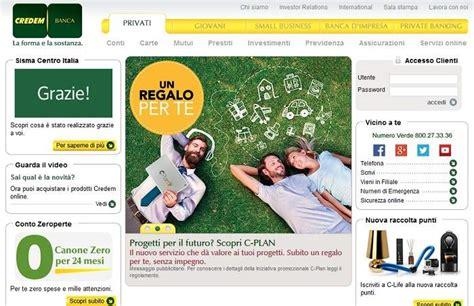 Banca Credem Filiali by Prestiti Credem Portale Prestito