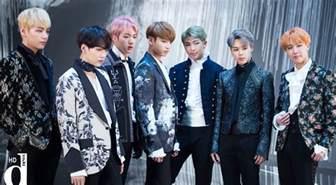 bts korean boy band bts blood sweat tears printed suits kpop korean hair