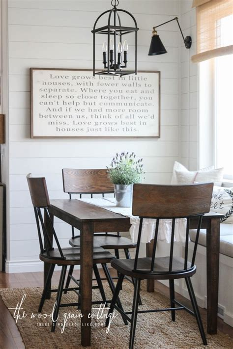 how to create a modern look with breakfast bar stools new breakfast nook chairs the wood grain cottage