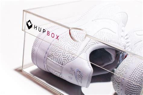 Transparant Shoes Box4 hupbox v1 clear shoe box hypebeast
