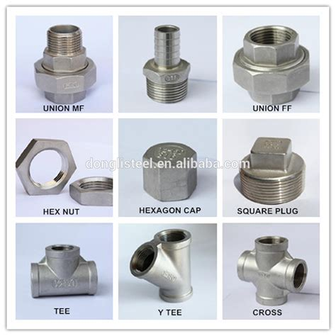 Fitting Pipa china supplier stainless steel screwed pipe fitting buy