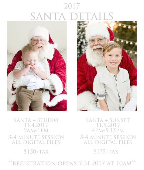 Pictures With Santa Houston 2017