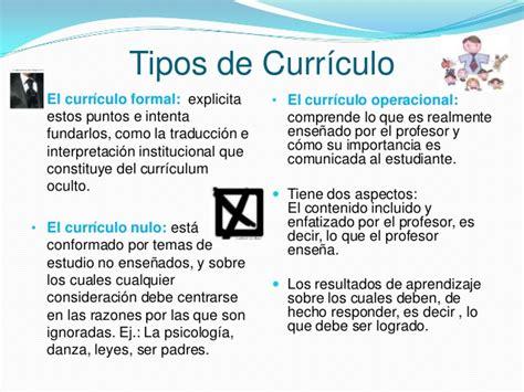 Definicion De Modelo Curricular Educativo Diapositivas Curriculo