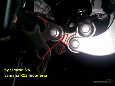 Shock Belakang R New 1 akibat terlalu memendekkan shock belakang yamaha r15 alumunium banana swing arm lecet
