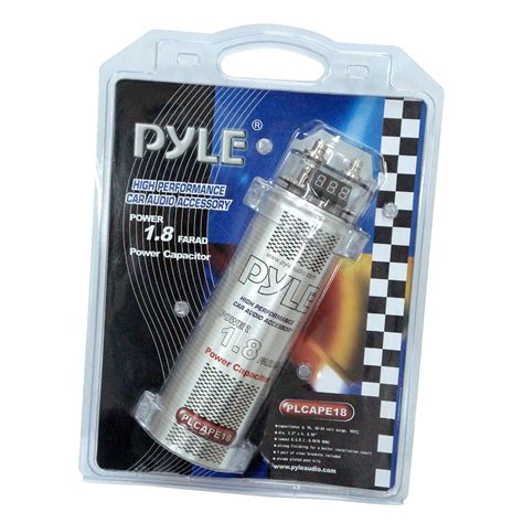 farad digital power capacitor pyle plcape18 on the road capacitors
