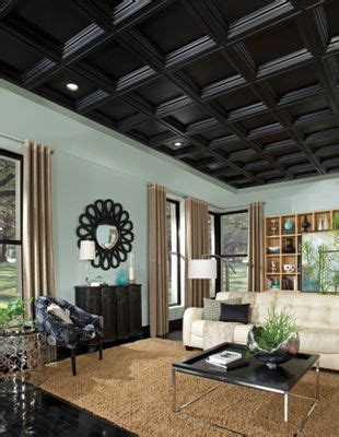 armstrong coffered ceiling coffer black easy elegance coffered black 2 x 2