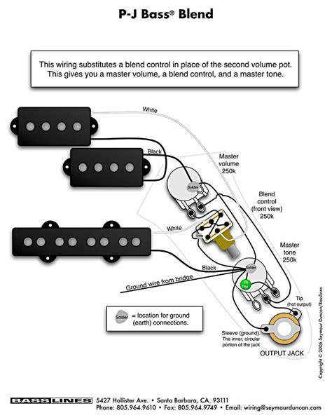 bass wiring diagrams p j bass blend jpg 836768 with jazz wiring diagram