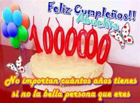 imagenes que digan feliz cumpleaños abuelita feliz cumplea 241 os abuelita mensajes y dedicatorias
