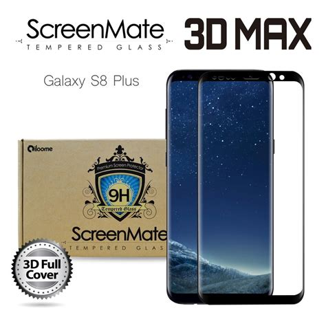 Ume 3d Glass Samsung Galaxy S8 Plus 1 samsung galaxy s8 plus screenmate 3d max cover tempered glass b iloome