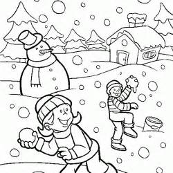 snow coloring pages winter coloring free winter coloring children snow