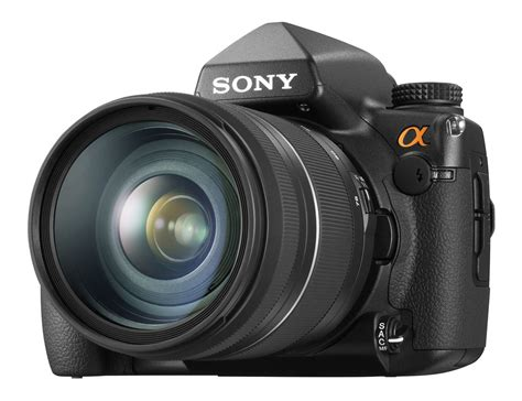 dslr sony sony a850 dslr launches with 24 6mp frame